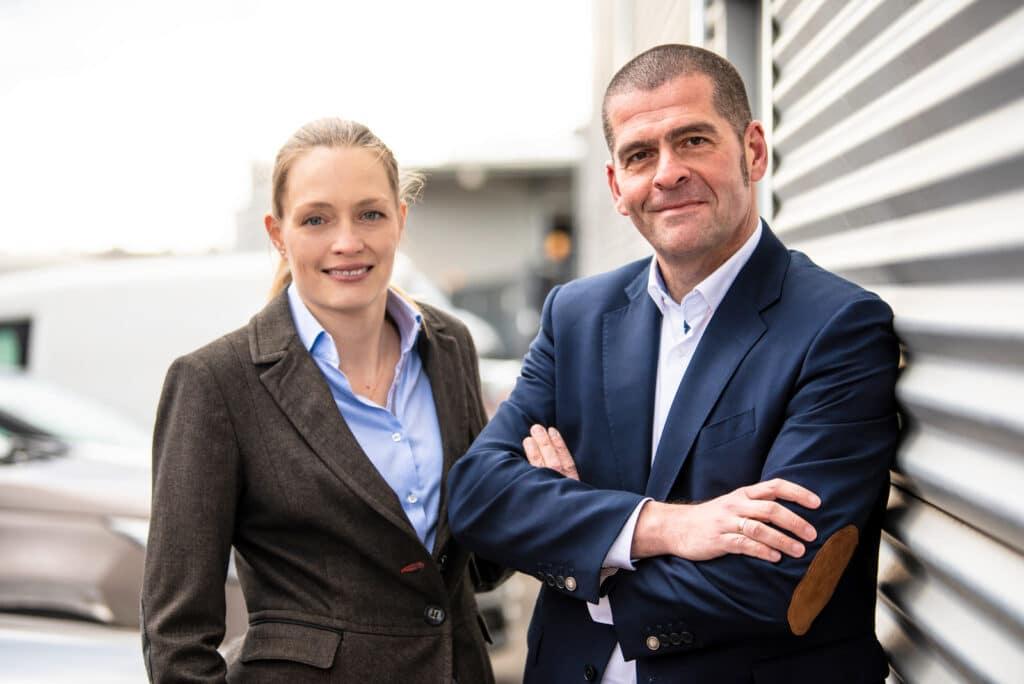 Immobilienmakler Tobias und Alexandra Geipel
