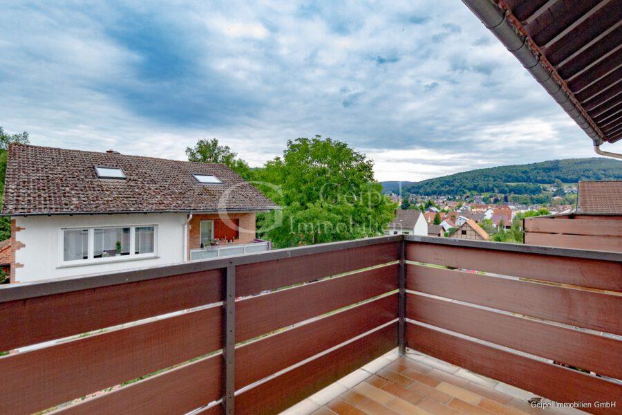 Vermietet - Balkon am Schlafzimmer
