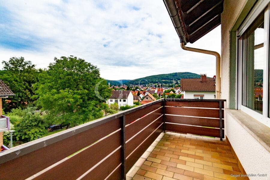 Vermietet - Balkon am Wohnzimmer