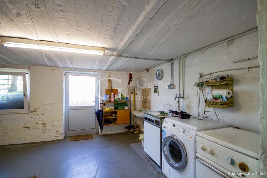 Erdgeschosswohnung! - Waschküche