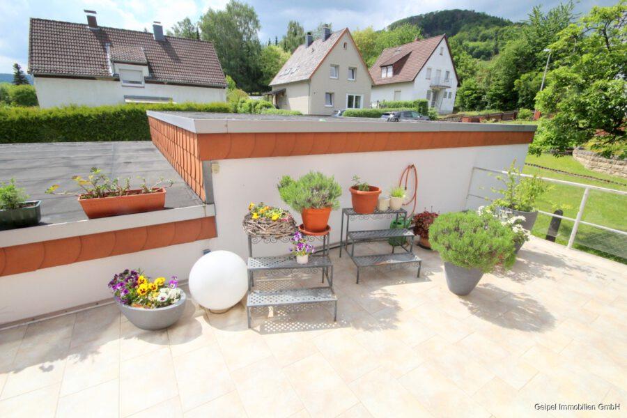 VERKAUFT Großes Einfamilienhaus ! - EG - Terrasse am Wohnzimmer