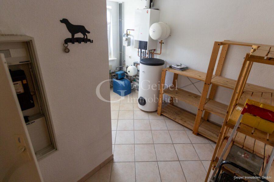 VERMIETET Einfamilienhaus mit Garten und Carport - Heizung und Abstellraum