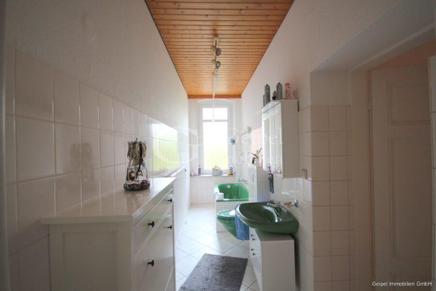 VERMIETET Erdgeschoss mit Garten - Bad