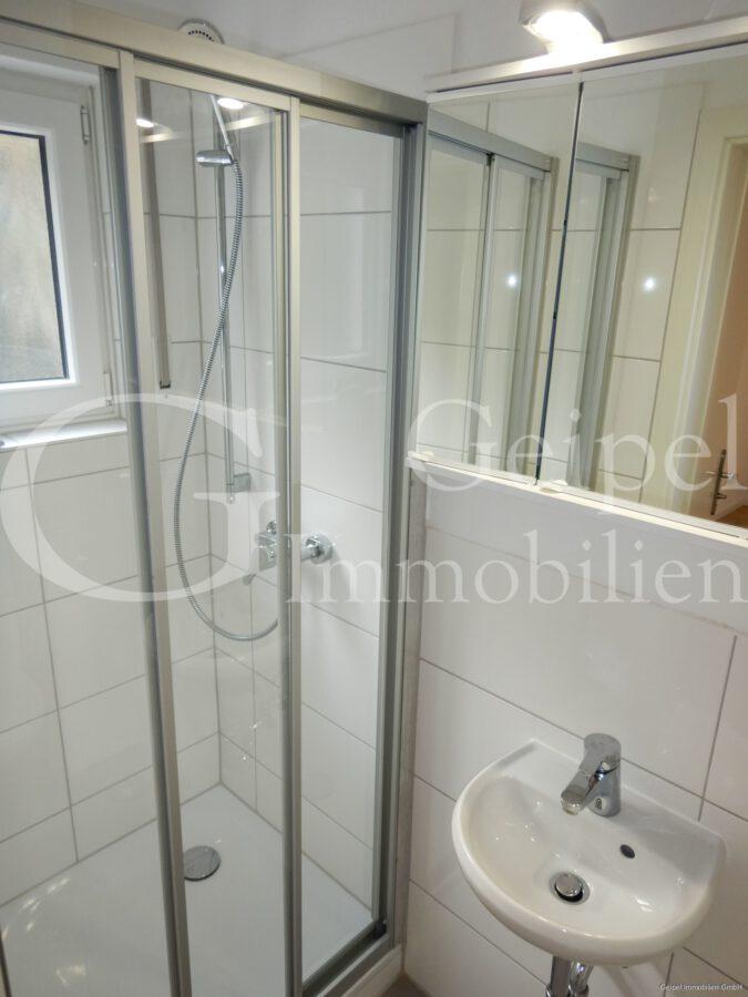 VERMIETET Terrassenwohnung mit Balkon - Gäste Dusche mit WC