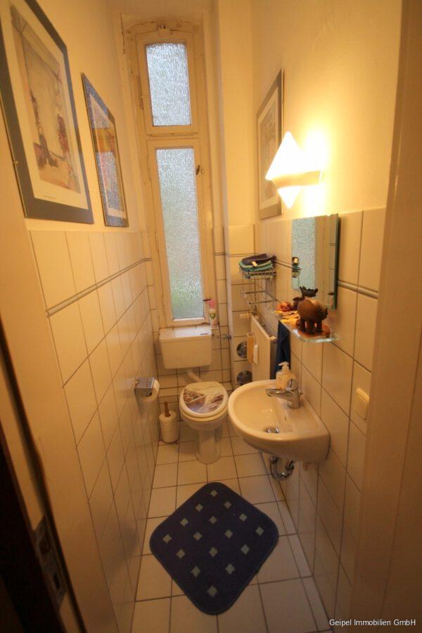 VERMIETET Die besondere Wohnung ! - Gäste WC