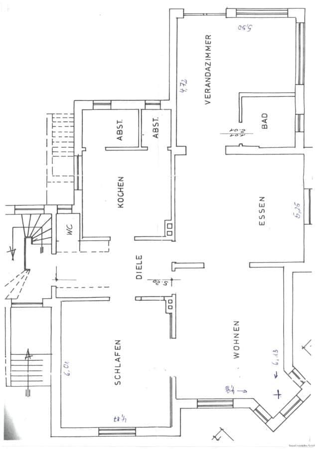 VERMIETET Die besondere Wohnung ! - Grundriss