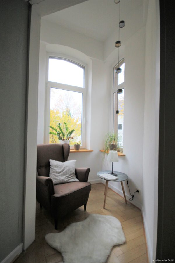 VERMIETET Die besondere Wohnung ! - Lese-Erker