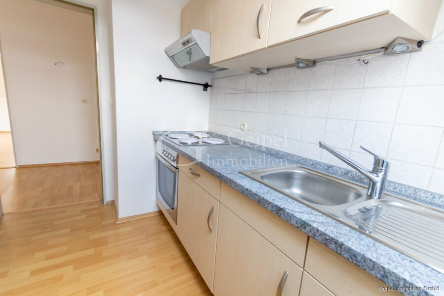 VERMIETET Hübsch, klein, überschaubar, mit Einbauküche - Küche