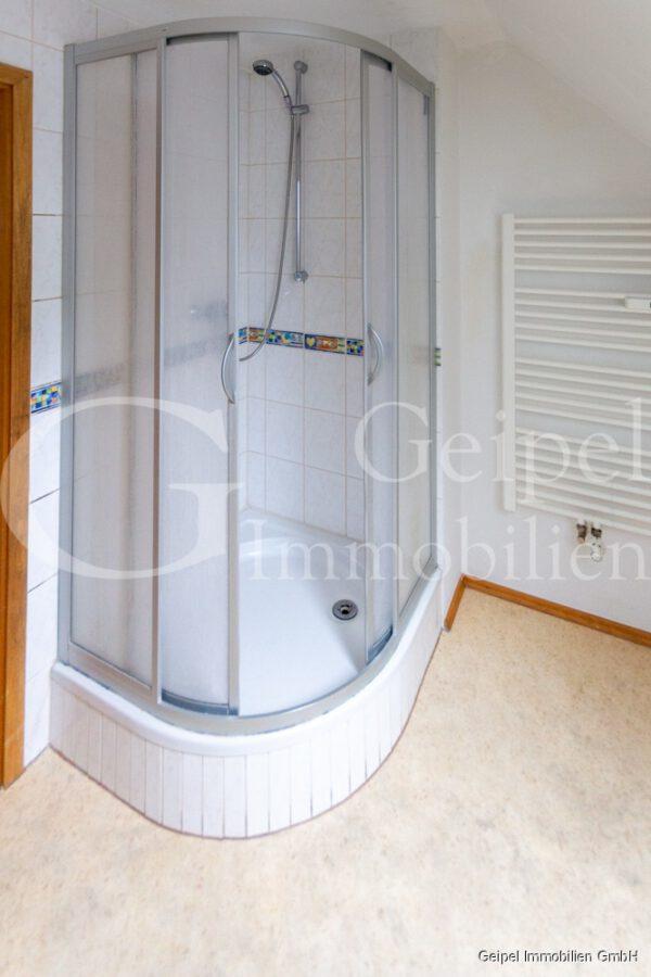 VERMIETET Perfekte Single Wohnung - Bad mit Dusche