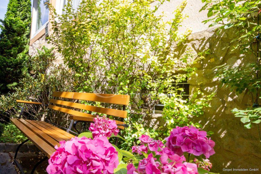 VERMIETET Wohnung mit Treppenlifter - Im Garten