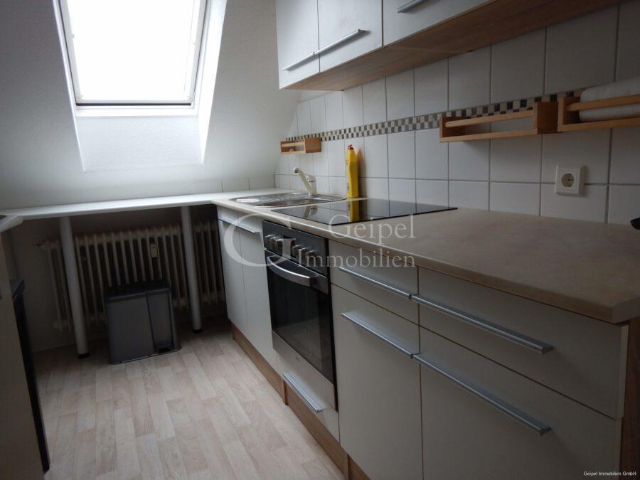 VERMIETET mit Einbauküche - Küche