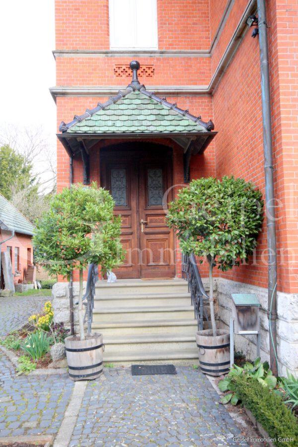 VERMIETET Stilvoll Wohnen - Hauseingang