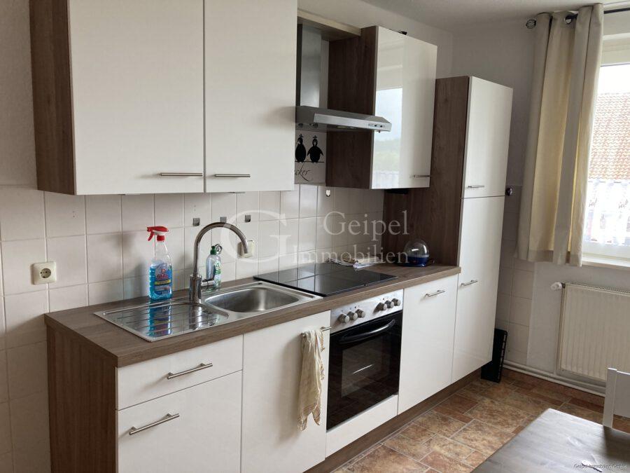 VERMIETET gepflegte Wohnung in Warzen - Küche