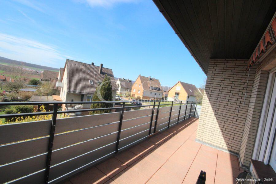 VERMIETET Großes Wohnhaus mit Fernsicht - Balkon