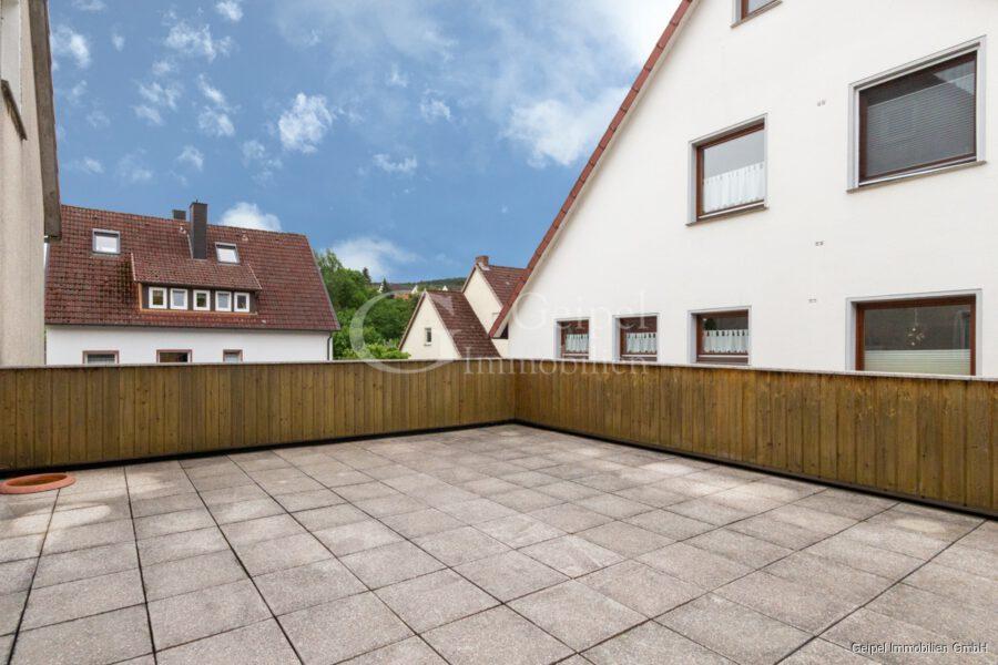 hochwertige Erdgeschosswohnung mit Terrasse - Terrasse